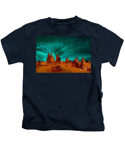 In All Directions Kids T-Shirt
