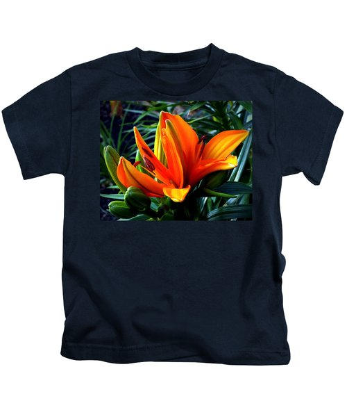 In The Tropics Kids T-Shirt