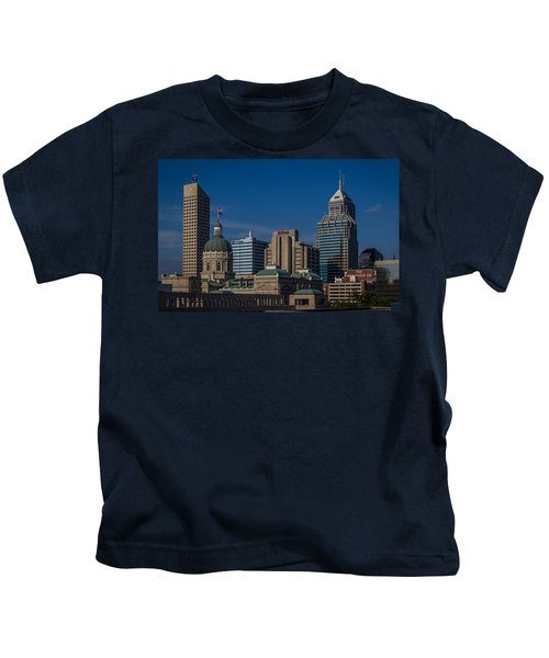 Indianapolis Skyscrapers Kids T-Shirt