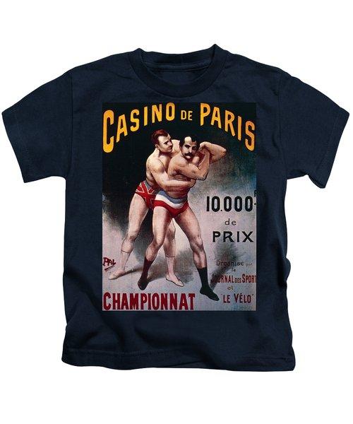International Wrestling Championship Kids T-Shirt