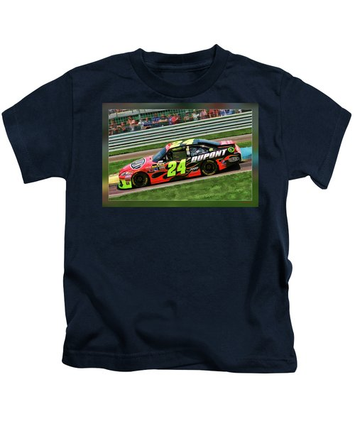 Jeff Gordon Kids T-Shirt