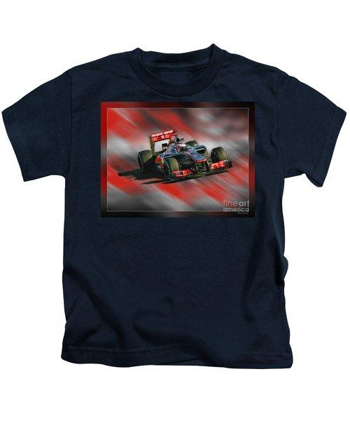 Jenson Button  Kids T-Shirt