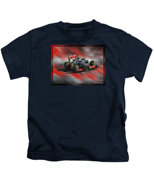 Jenson Button  Kids T-Shirt