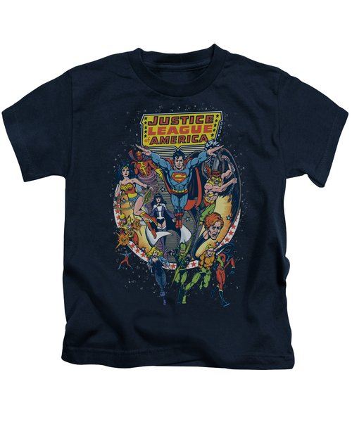 Jla - Star Group Kids T-Shirt