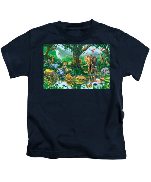 Jungle Harmony Kids T-Shirt