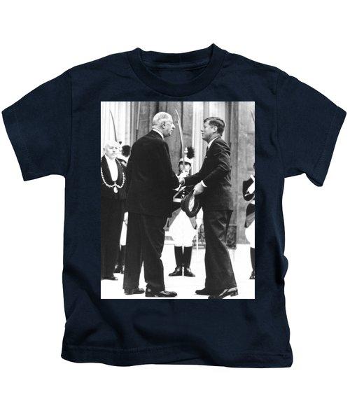 Kennedy & De Gaulle Meet Kids T-Shirt