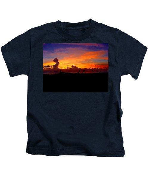 Key West Sun Set Kids T-Shirt