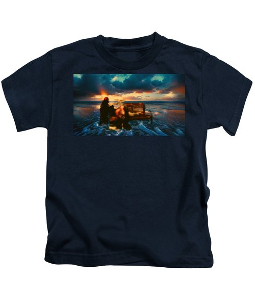Lady Of The Ocean Kids T-Shirt