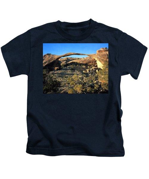 Landscape Arch Kids T-Shirt