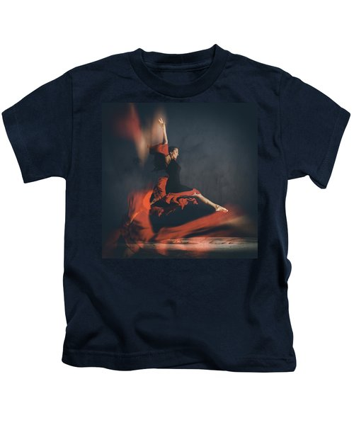 Latin Dancer Kids T-Shirt