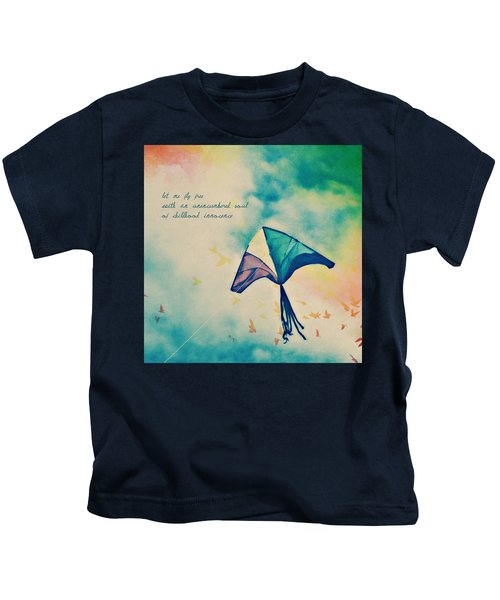 Let Me Fly Free Kids T-Shirt