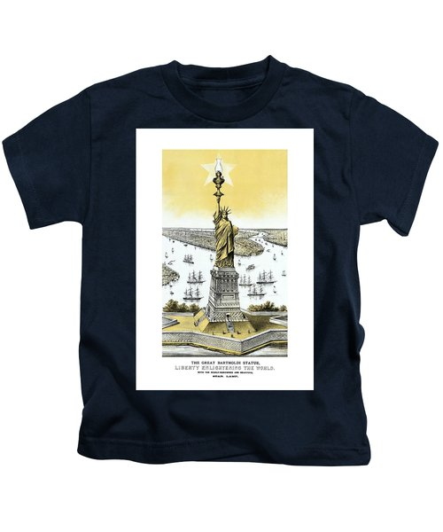 Liberty Enlightening The World  Kids T-Shirt