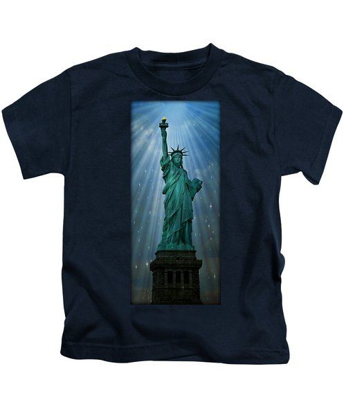 Light To The Nations Kids T-Shirt