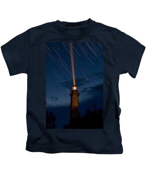 Little Sable Lighthouse Kids T-Shirt