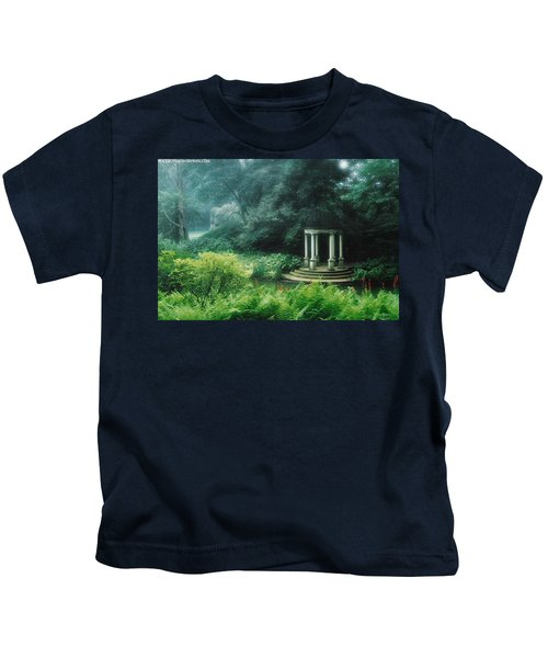 Longwood Gazebo Kids T-Shirt