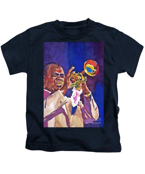 Louis Satchmo Armstrong Kids T-Shirt