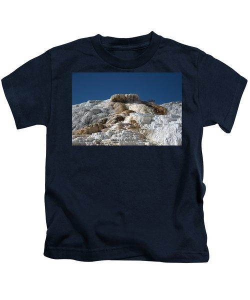 Mammoth Hotsprings 4 Kids T-Shirt