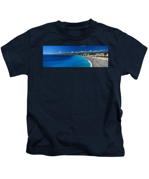 Mediterranean Sea French Riviera Nice Kids T-Shirt