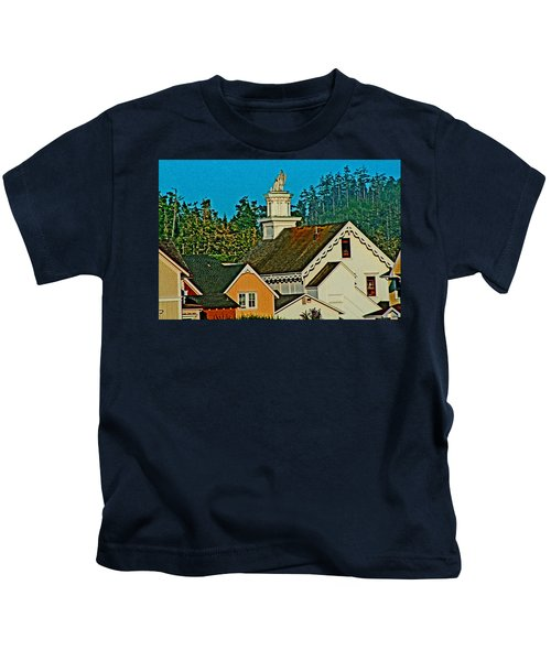 Mendocino California Kids T-Shirt