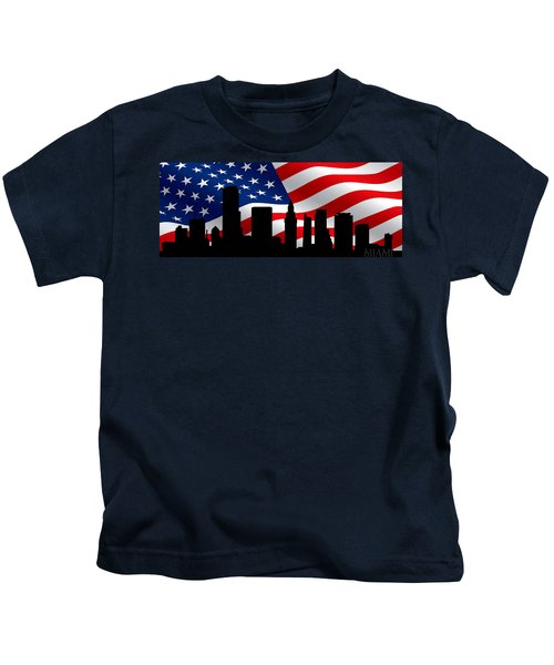 Miami Skyline Kids T-Shirt