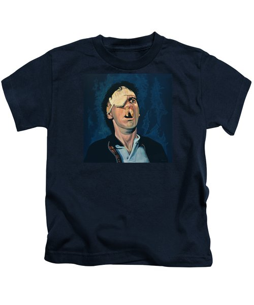 Michael Palin Kids T-Shirt by Paul Meijering