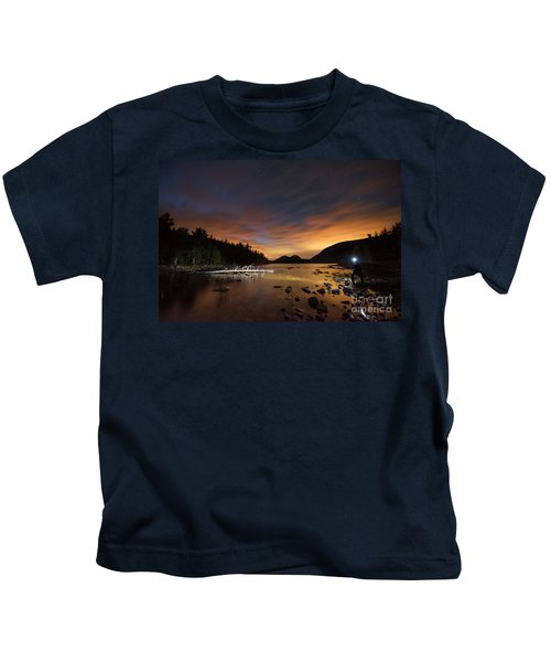 Midnight Explorer Kids T-Shirt