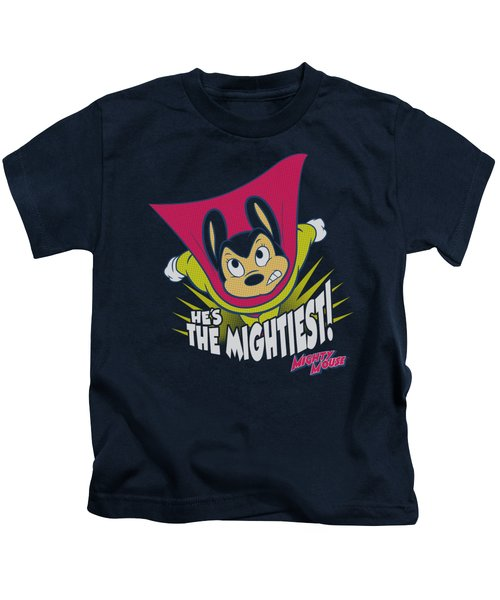 Mighty Mouse - The Mightiest Kids T-Shirt by Brand A