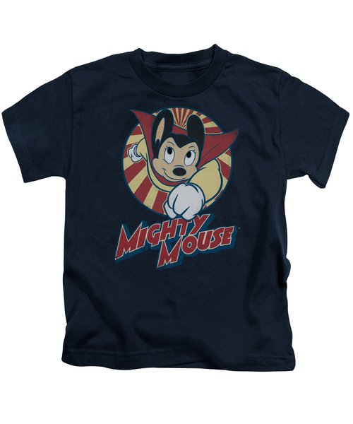 Mighty Mouse - The One The Only Kids T-Shirt by Brand A