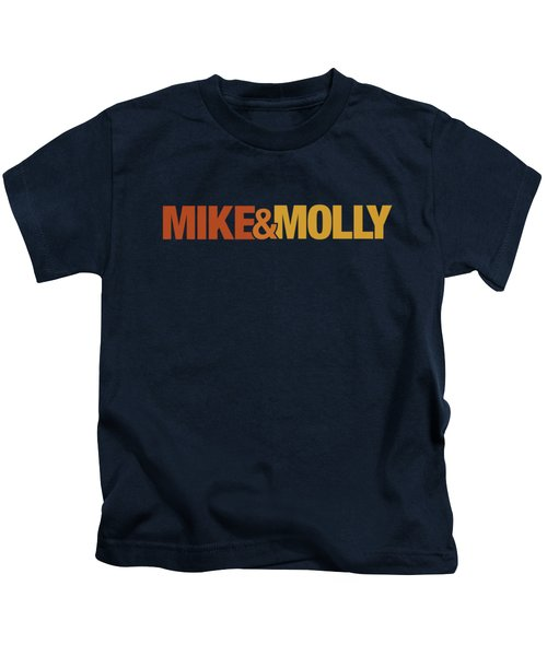 Mike And Molly - Logo Kids T-Shirt
