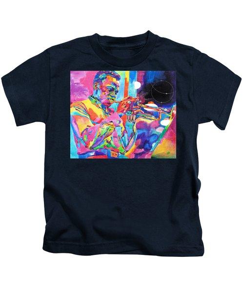 Miles Davis Bebop Kids T-Shirt
