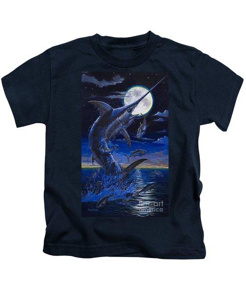 Moon Doggie Off00124 Kids T-Shirt