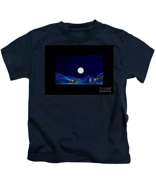 Moonlight. Winter Collection Kids T-Shirt