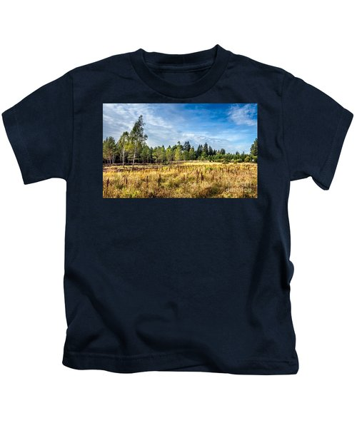 Wetlands In The Black Forest Kids T-Shirt