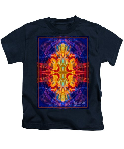 Mother Of Eternity Abstract Living Artwork Kids T-Shirt