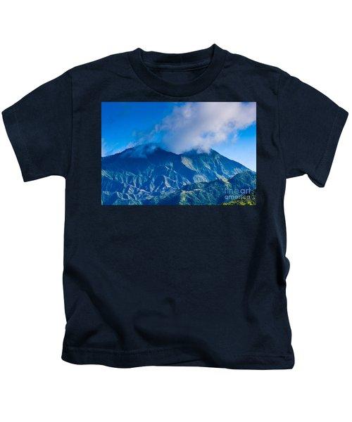Mount Wai'ale'ale  Kids T-Shirt