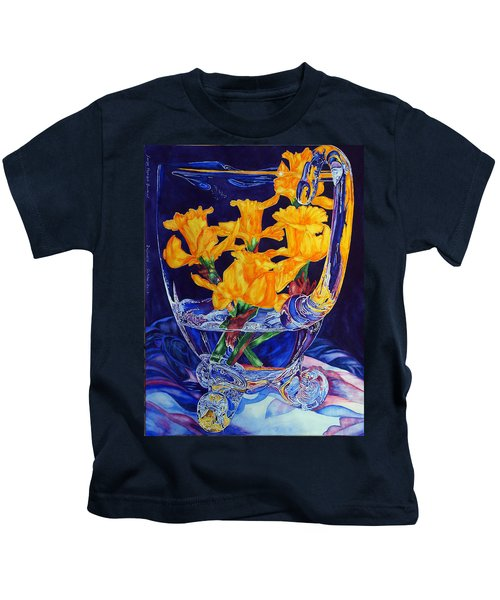 Narcisses Dans Un Vase From Master Class Kids T-Shirt