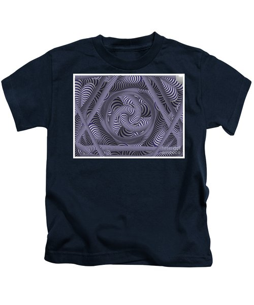 Nautical Coloured Design Kids T-Shirt