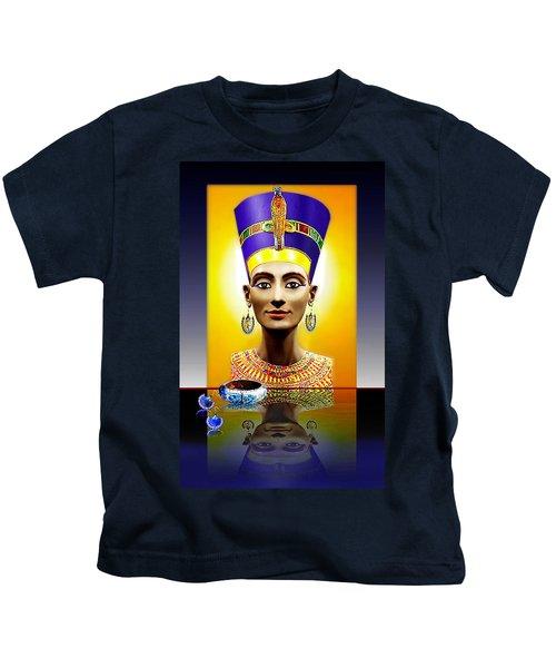 Nefertiti  The  Beautiful Kids T-Shirt