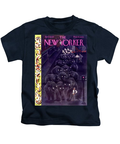 New Yorker April 10 1937 Kids T-Shirt