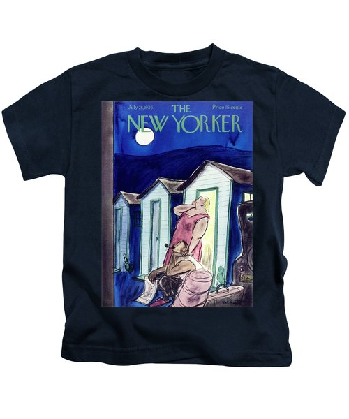 New Yorker July 25 1936 Kids T-Shirt