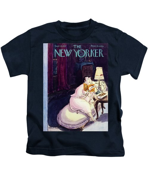 New Yorker September 25 1937 Kids T-Shirt