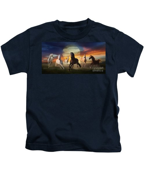 Night Play Kids T-Shirt