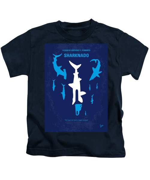 No216 My Sharknado Minimal Movie Poster Kids T-Shirt