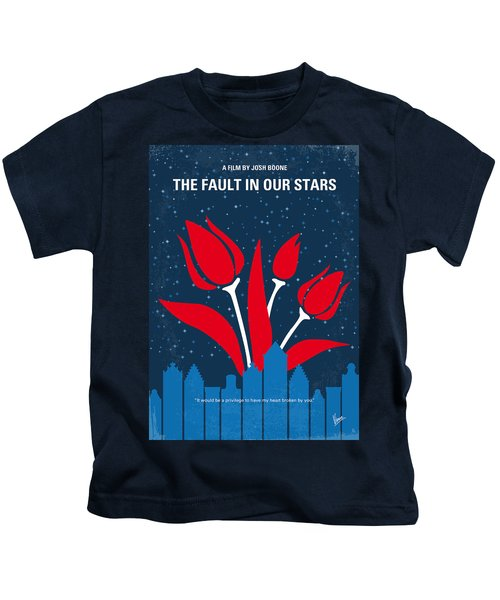 No340 My The Fault In Our Stars Minimal Movie Poster Kids T-Shirt
