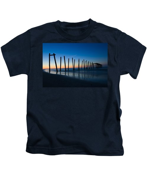 Old Broken 59th Street Pier Kids T-Shirt