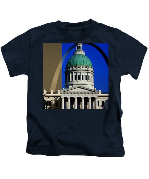 Old Courthouse Dome Arch Kids T-Shirt