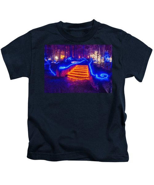 Orange Steps Kids T-Shirt