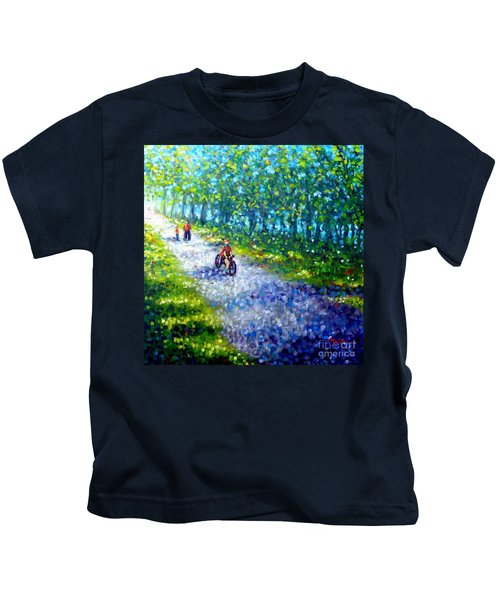 Park On St Helen Island - Montreal Kids T-Shirt
