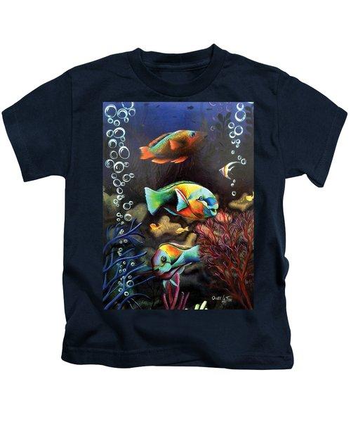 Parrot Fish Kids T-Shirt