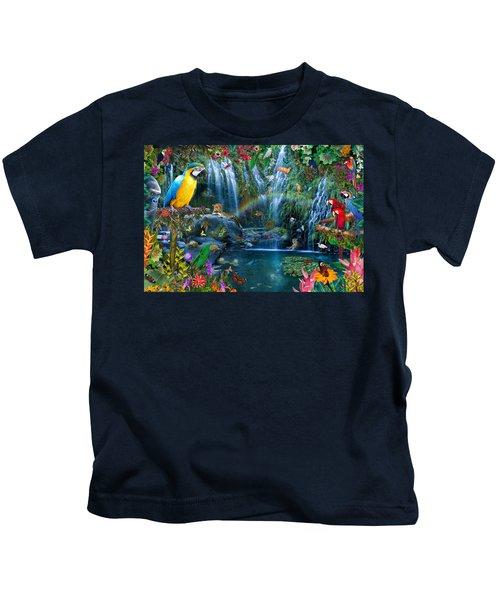 Parrot Tropics Kids T-Shirt